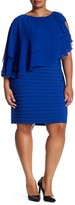 Adrianna Papell Cascading Dress (Plus Size)
