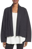 Eileen Fisher Boiled Wool Kimono Jacket (Regular & Petite)