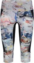 Lucas Hugh Nordica cropped printed stretch leggings