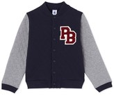 Petit Bateau Boys quilted teddy jacket