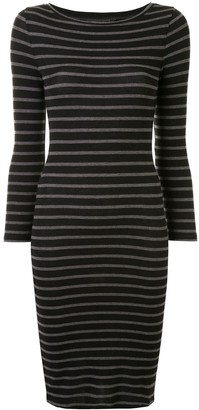 BCBGMAXAZRIA Striped Dress