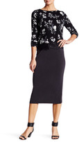BB Dakota Auburny Jersey Pencil Skirt