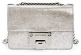 Jimmy Choo 'Rebel Mini' Metallic Leather Crossbody Bag - Metallic