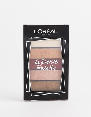 L'Oreal Mini Eyeshadow Palette 02 Nudist