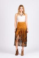 Raga Desert Fringe Skirt