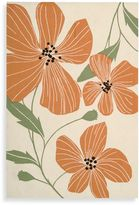 Nourison Fantasy Poppies Rug in Ivory