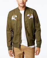 American Rag Men's Embroidered Bomber Jacket, Created for Macy's