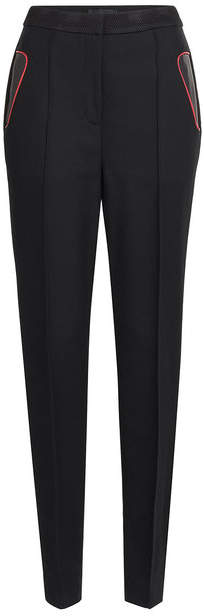Alexander Wang Tailored Pants with Leather