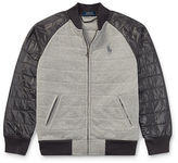 Ralph Lauren 8-20 Quilted Cotton Baseball Jacket