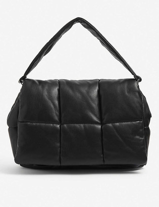 Stand Wanda padded faux-leather clutch