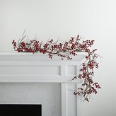 Crate & Barrel Red Berry Garland
