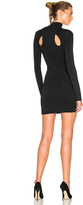 Dion Lee Density Knit Loop Lock Mini Dress