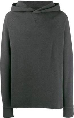 Levi's unhemmed hoodie