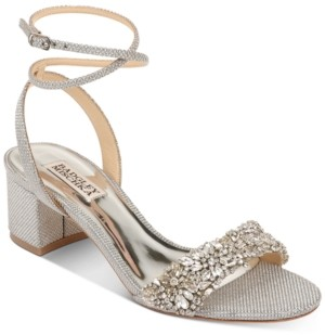 Badgley Mischka Jada Evening Sandals Women's Shoes