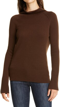 Theory Karinello Funnel Neck Cashmere Sweater