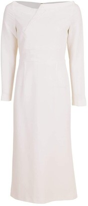 Roland Mouret Romolo Off Shoulder Slim Dress