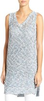 Willow & Clay Women's Sleeveless Open Knit Tunic