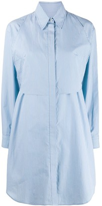 MM6 MAISON MARGIELA Pinstripe Shirt Dress