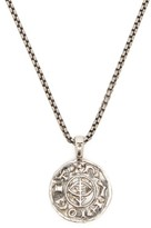 Tom Wood - Viking Sterling-silver Coin Pendant - Mens - Silver
