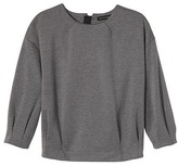 Banana Republic Pleated-Sleeve Couture Sweatshirt
