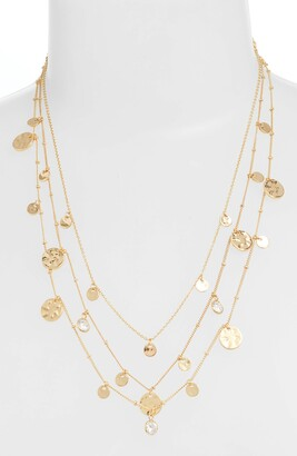 Ettika Set of 3 Disc Necklaces