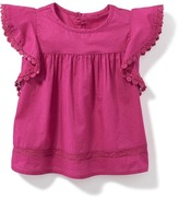 Old Navy Flutter-Sleeve Top for Baby
