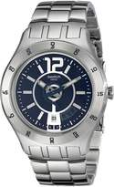 Swatch Men's YTS404G Quarts Date Dial Stainless Steel Watch