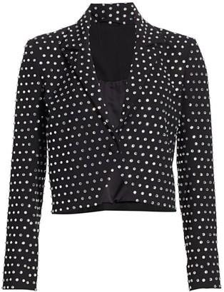 Mason by Michelle Mason Crystal Studded Jacket