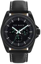 Ted Baker Men&s Quartz Leather Strap Watch