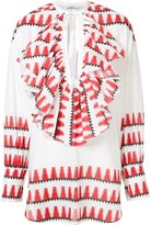 Tome native print blouse - women - Cotton - S