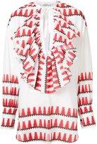 Tome native print blouse - women - Cotton - XS