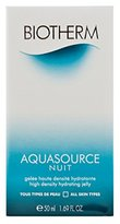 Biotherm Aquasource Nuit Hydrating Jelly Night Cream-All Skin Types for Unisex, 1.69 Ounce