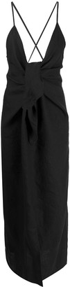 Mara Hoffman Knot-Detail Maxi Dress