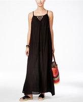 Raviya Lattice-Back Maxi Dress Cover-Up Women's Swimsuit