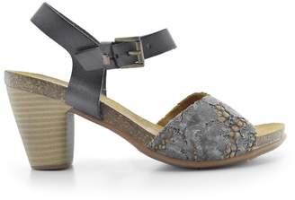Bunker Liza High Heeled Leather Sandals