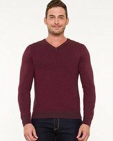 Le Château Knit V-Neck Sweater