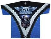 Liquid Blue Men's Aerosmith Guitar Short Sleeve T-Shirt