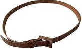 Fendi Beige Leather Belt