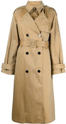 Theory Layered Padded Trench Coat