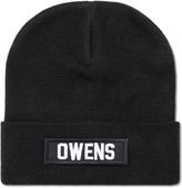 Les (Art)ists Black Owens Patch Beanie