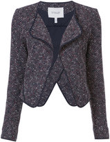 Derek Lam 10 Crosby patterned flappy jacket - women - Cotton/Polyester - 0