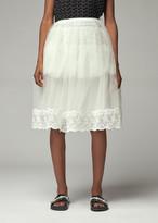 Simone Rocha Women's Tutu Skirt in Ivory/Ivory Size 6