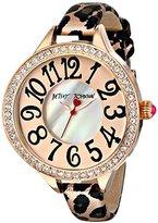Betsey Johnson Women's BJ00387-03 Rose Gold Watch