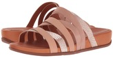FitFlop Lumy Leather Slide Women's Slide Shoes