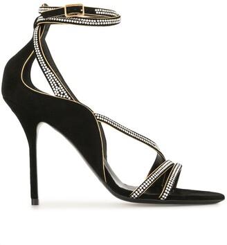 Pierre Hardy Crystal Embellished Sandals