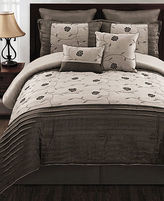 CLOSEOUT! Annabelle 8 Piece King Comforter Set