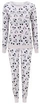 Disney George Minnie and Mickey Mouse Velour Pyjama Set