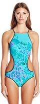 Nanette Lepore Women's Jakarta Jaguar Goddess One Piece Swimsuit