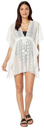 Becca by Rebecca Virtue Poetic Sheer Lace Tunic Cover-Up