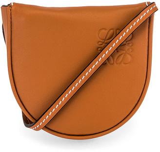 Loewe Heel Mini Pouch Bag in Tan | FWRD